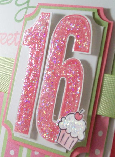 Happy Sweet 16th Birthday Cards Diy 16th Birthday Card Girl Birthday Cards