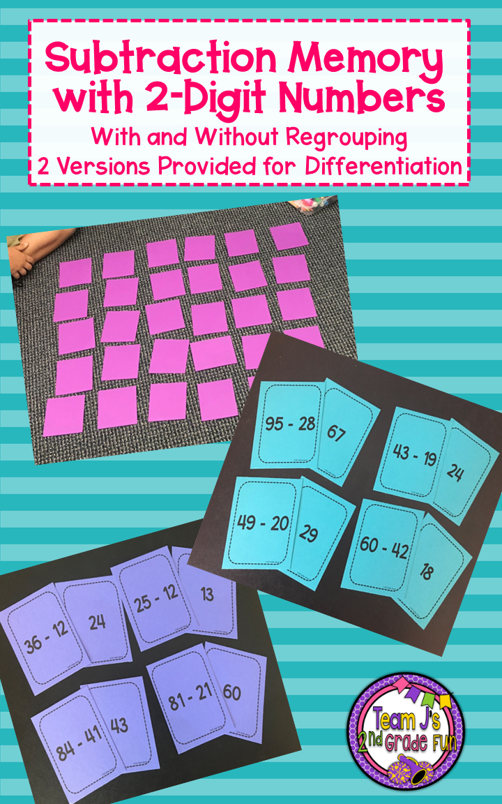 Subtraction Game | Pinterest | Math, Number and Differentiation