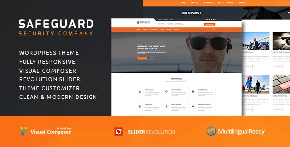 Safeguard - Security Services Wordpress theme (Busine…   WordPress ...