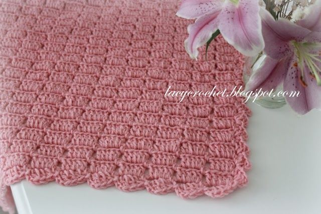 This Baby Afghan Is Super Easy To Make There Are Only Two Repeating