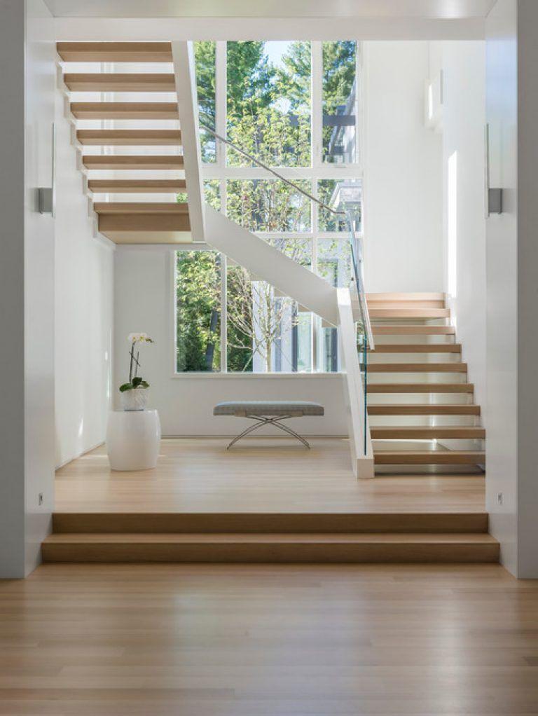 Best Fancy U Stairs Design Modern U Shaped Staircase Design 400 x 300