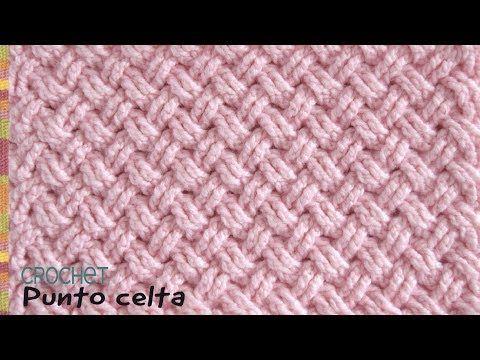 Punto diseño CELTA tejido a crochet / Tejiendo Perú - YouTube ...