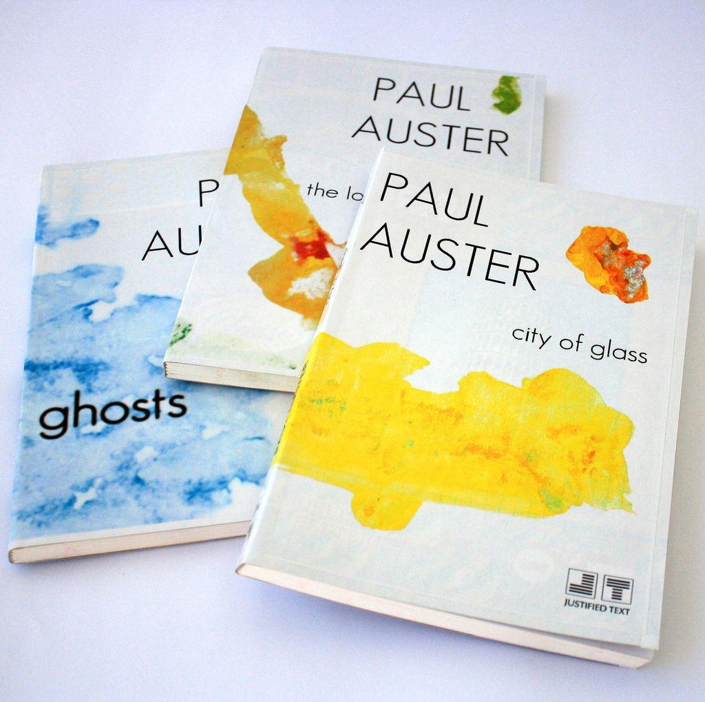 Paul Auster by PistoCasero 한국판과는 다른 느낌의 폴오스터 책표지