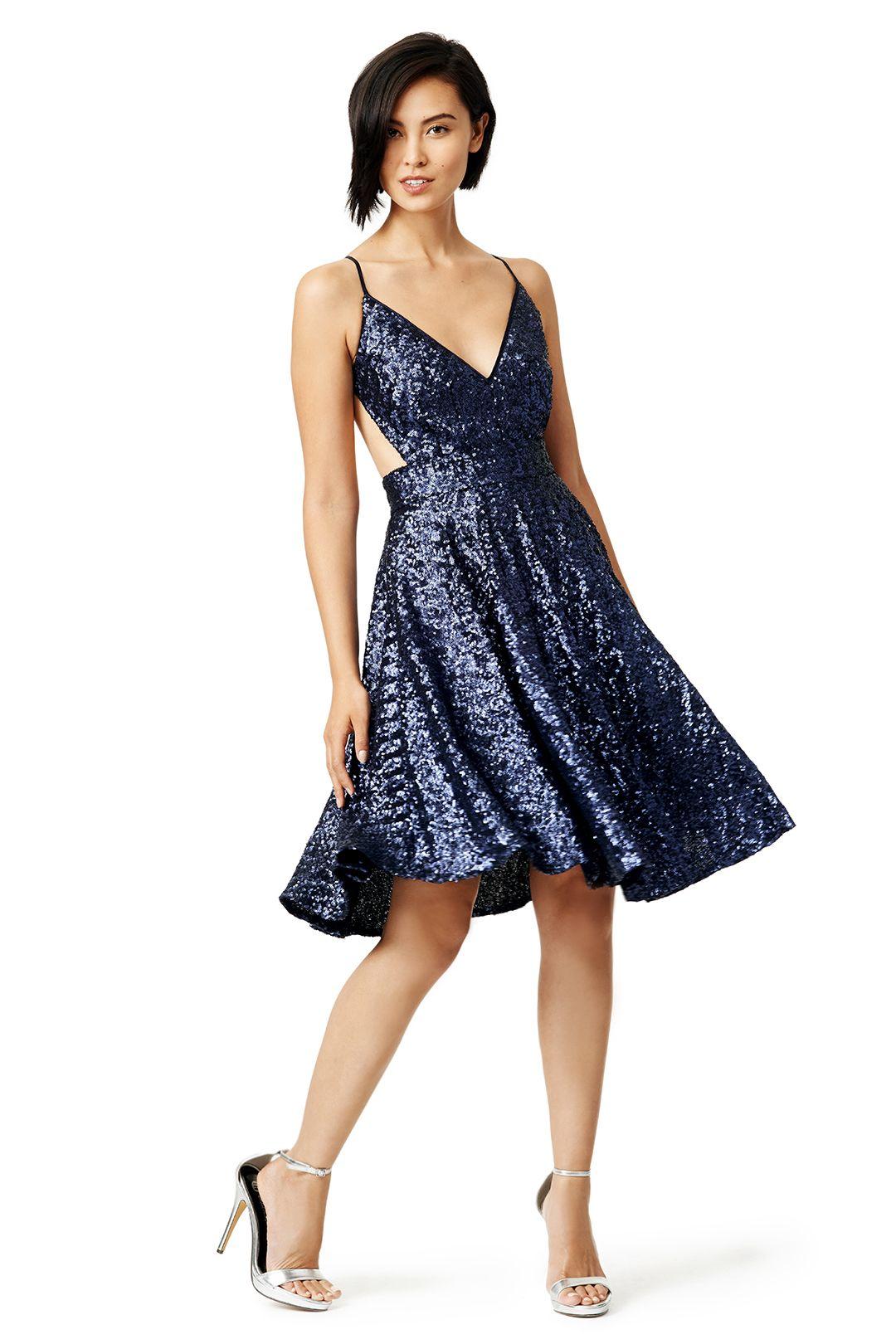Contrarian Sea Shimmer Dress | Shimmer dress, Dresses ...