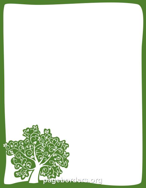 Clip Art Tree Border