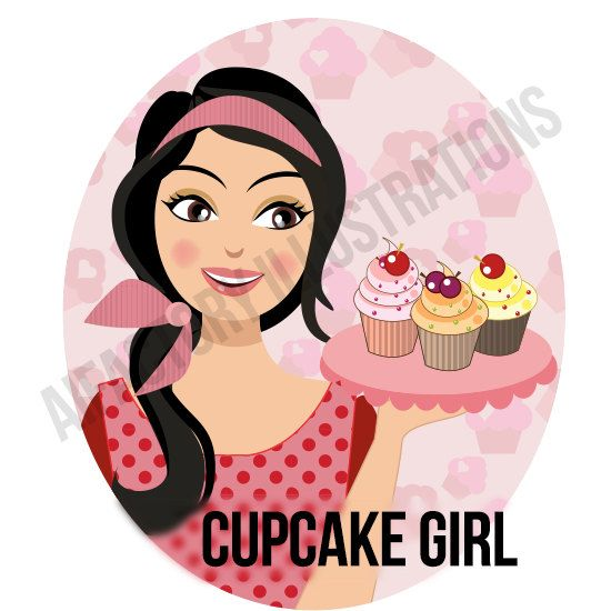 woman holding cupcake bakery png clipart girl holding cupcake woman with cupcake woman digital png