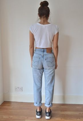 unbeatable price 100% quality quarantee super cheap VINTAGE LEVI 501 HIGHWAISTED BOYFRIEND JEANS | High waisted ...