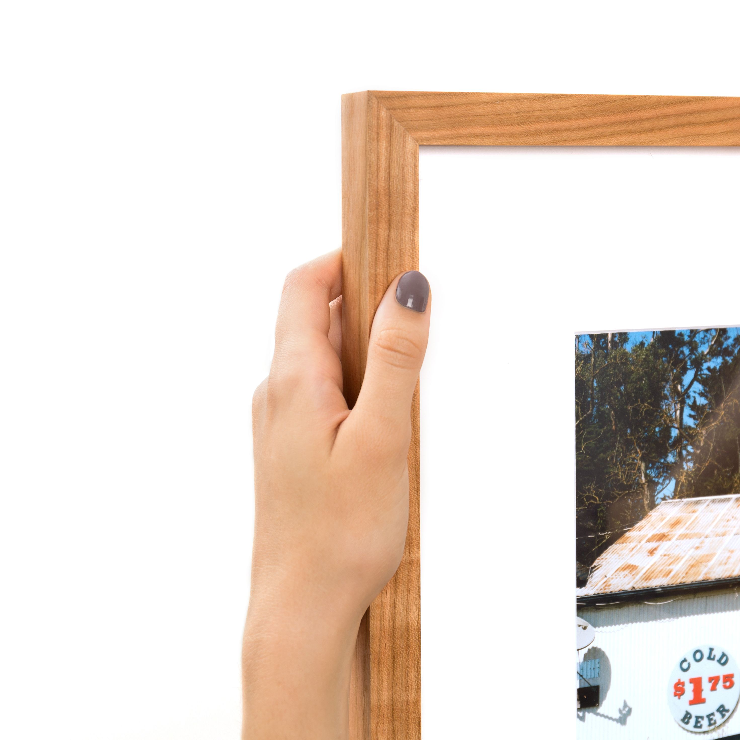 Cherry (Gallery) – Solid Cherry wood gallery frame | Summit Ave ...