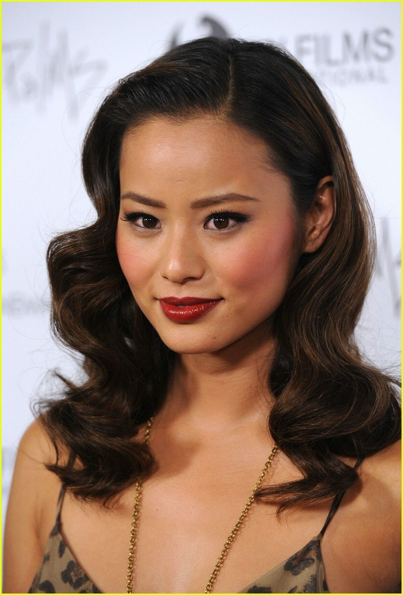 Jamie Chung Love The Make Up And Hair Do Bridal Makeup Red
