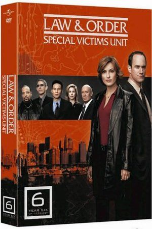 Law Order Special Victims Unit The Sixth Year Law And Order Special Victims Unit Law And Order Svu Law And Order