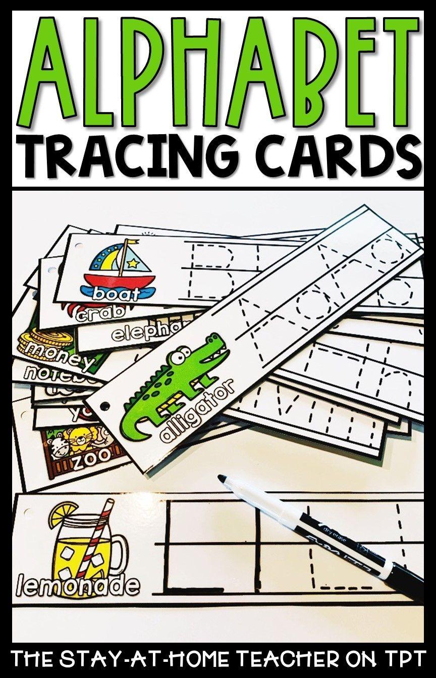 Tracing Cards for Preschool Skills BUNDLE Handwriting