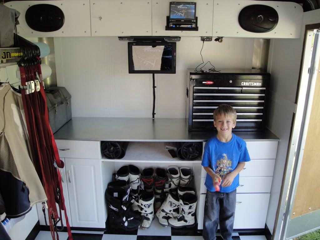 Enclosed trailer bike trailer trailer diy enclosed