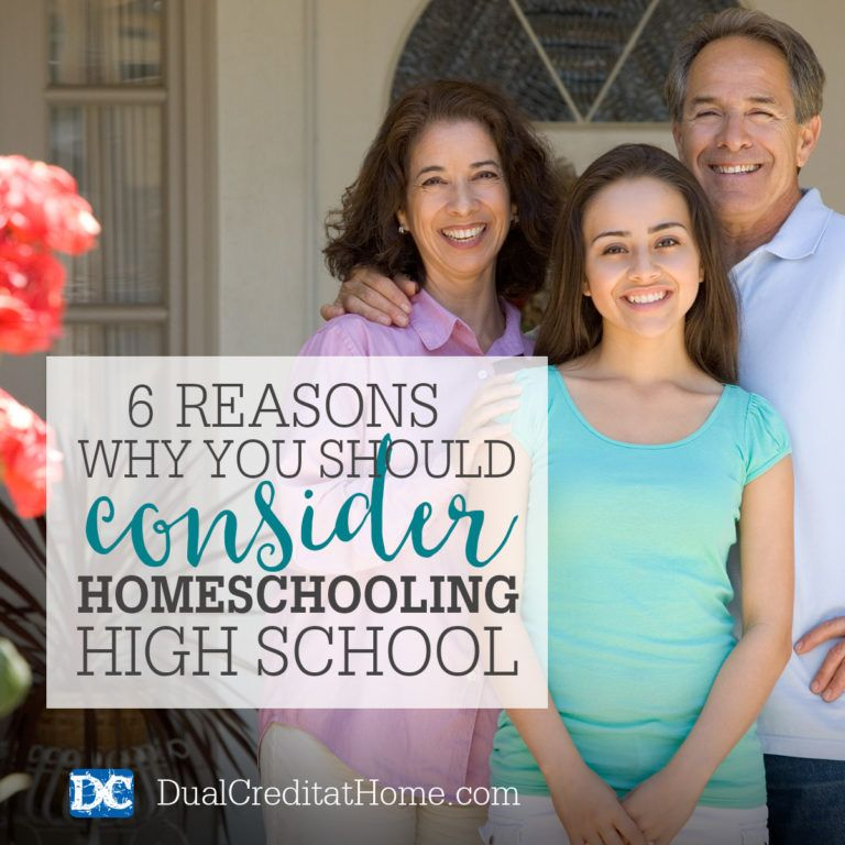 6 reasons why you should consider homeschooling high