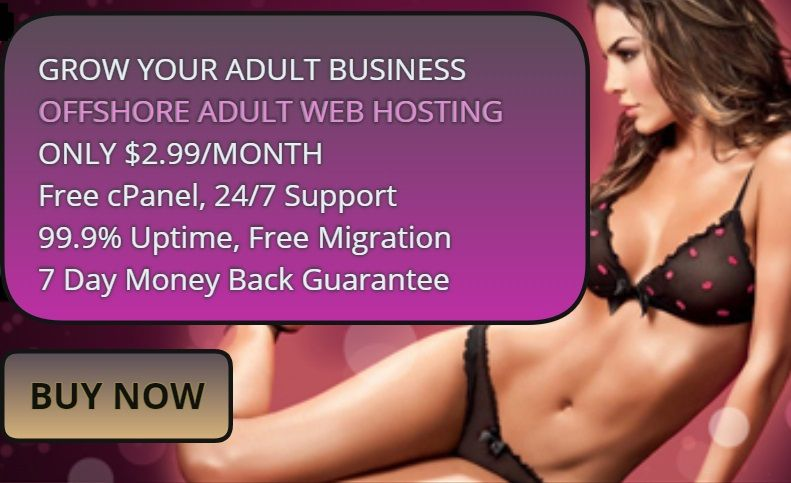#OFFSHORE #ADULT #WEB #HOSTING FOR #ONLY $2.99/month! These plans are  offered with #free #cPanel access, 24/7 #support, 99.9% #uptime guarantee,  ...