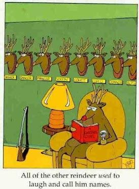 Charming Reindeer Games #christmas #comedy #humor #funny Images