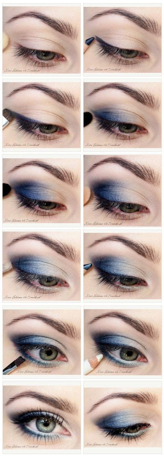 12 awesome smokey eyes tutorials the weekly round up smoky eye 12 awesome smokey eyes tutorials the weekly round up titicrafty by camila navy makeupblue eye baditri Image collections