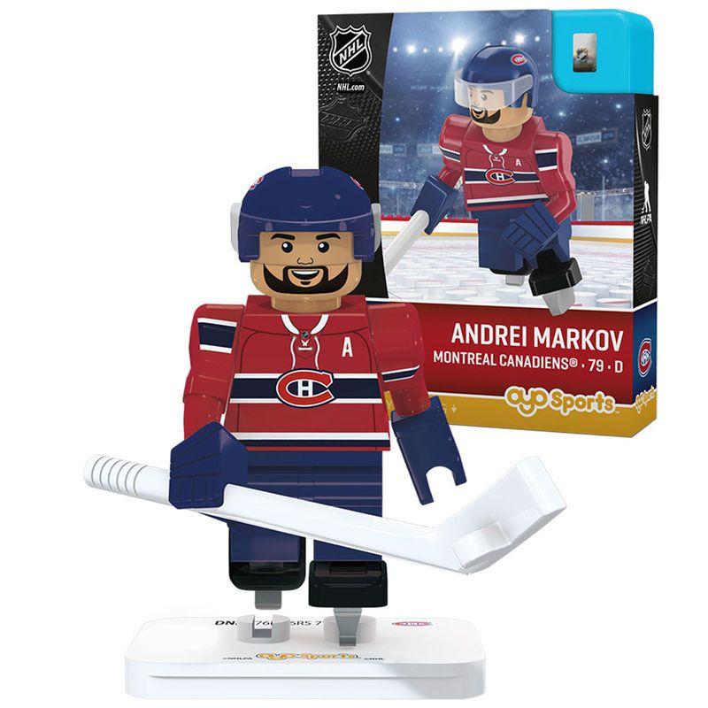 Andrei Markov Montreal Canadiens OYO Sports Player Figurine  dee65fa6a