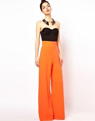 Pantalones Anchos De Moda Pantalones Anchos Pantalon Ancho Mujer Moda