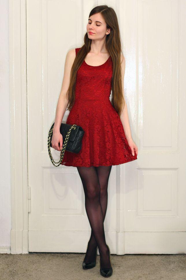 5d6b5328d1 Red Dress Sexy Dresses, Nyári Ruhák, Gyönyörű Nők, Fekete