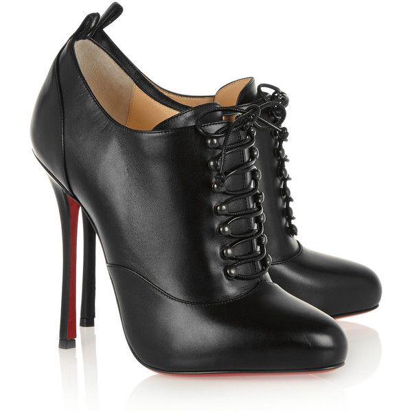 wholesale dealer d7b6f c5991 spain christian louboutin coussin caged ankle boots black ...