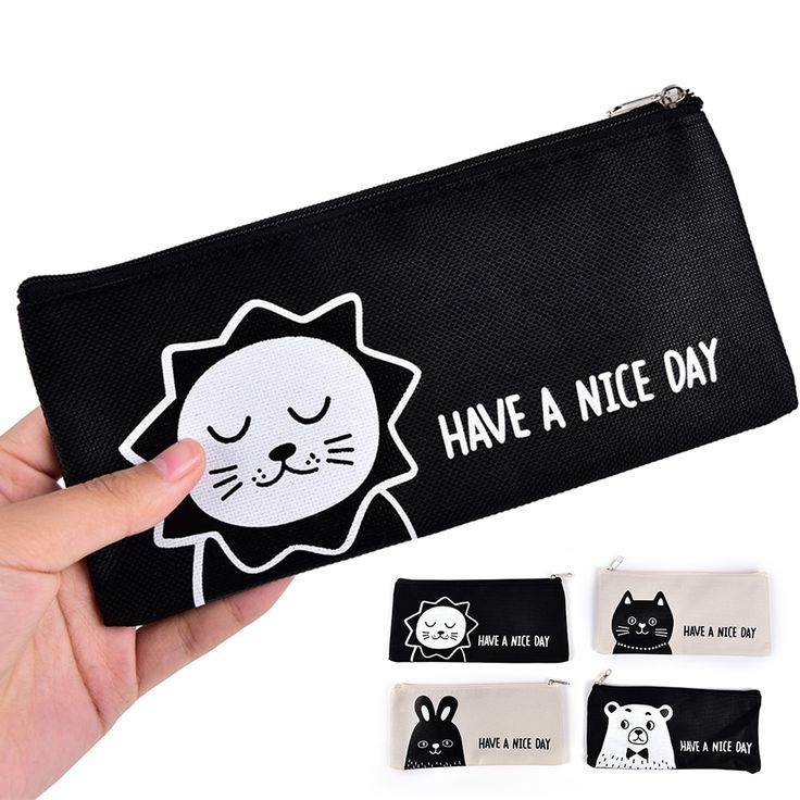 Cute Animal Lion Bear Rabbit Cat Pencil Bag Pencil Case Stationery School Suppli... Cute Animal Lion Bear Rabbit Cat Pencil Bag Pencil Case Stationery School Suppli... -  -