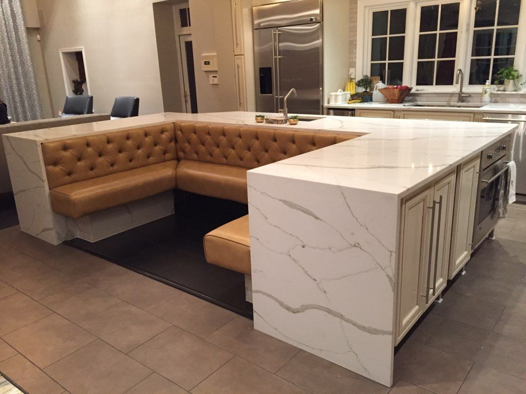 Best Calcutta Gold Quartz Silestone Goodfellasgranitellc 400 x 300