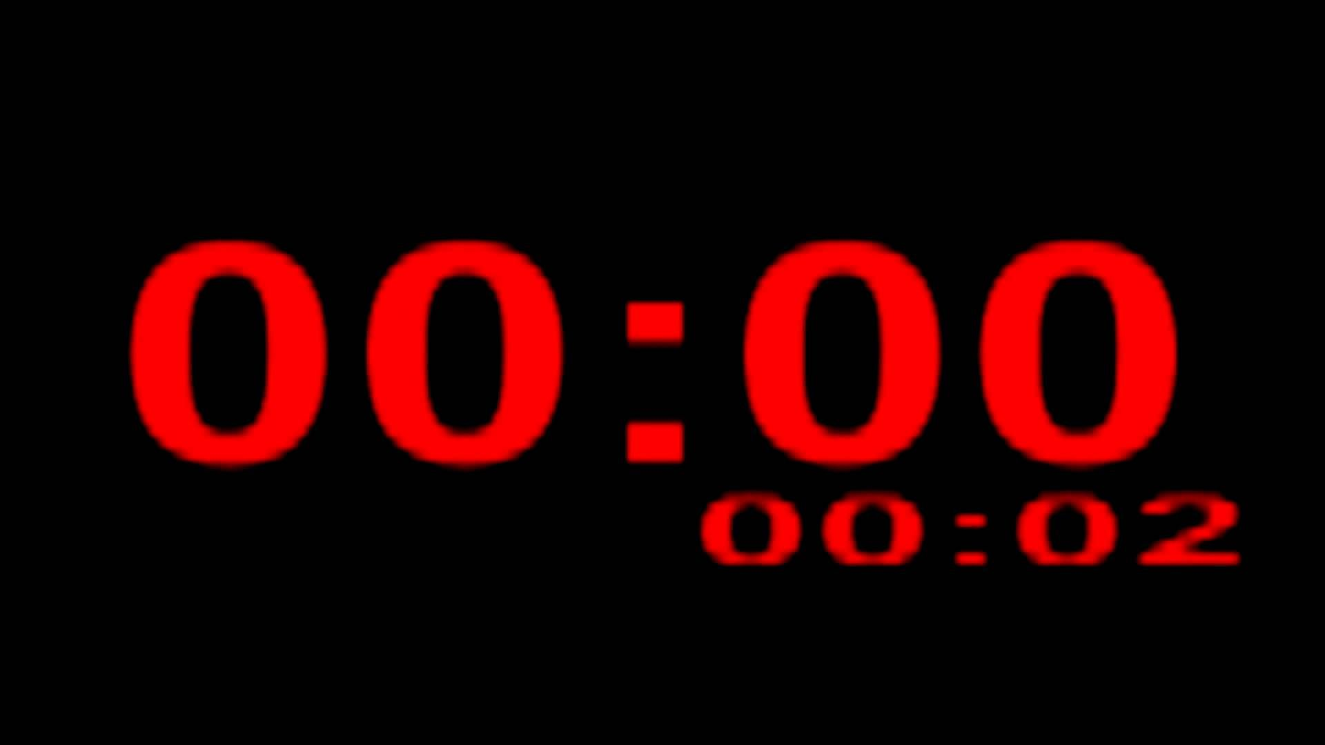 IMPROVED BOXING TIMER- BIGGER DIGITS 1.5 HOURS! Three minute boxing time...