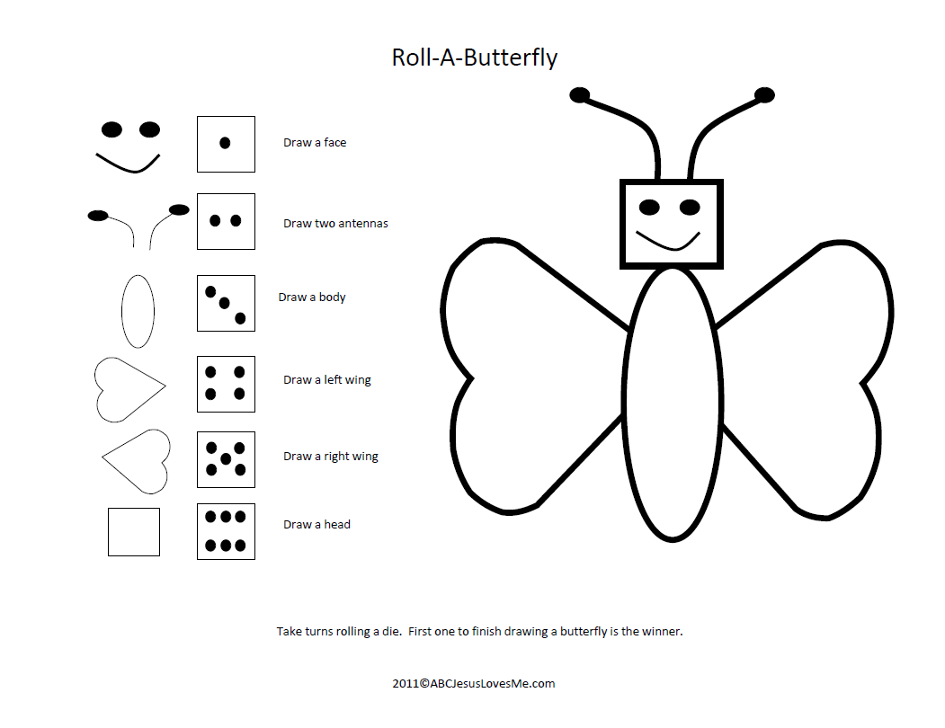 Roll A Butterfly Game