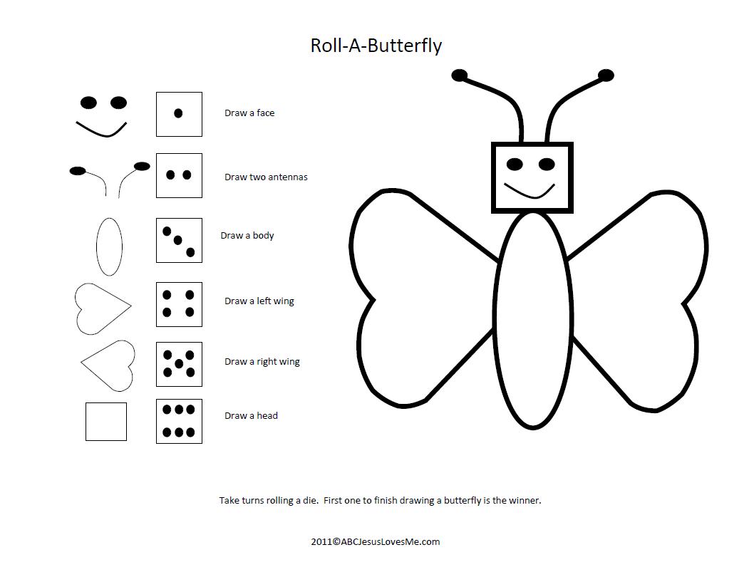 Roll A Butterfly