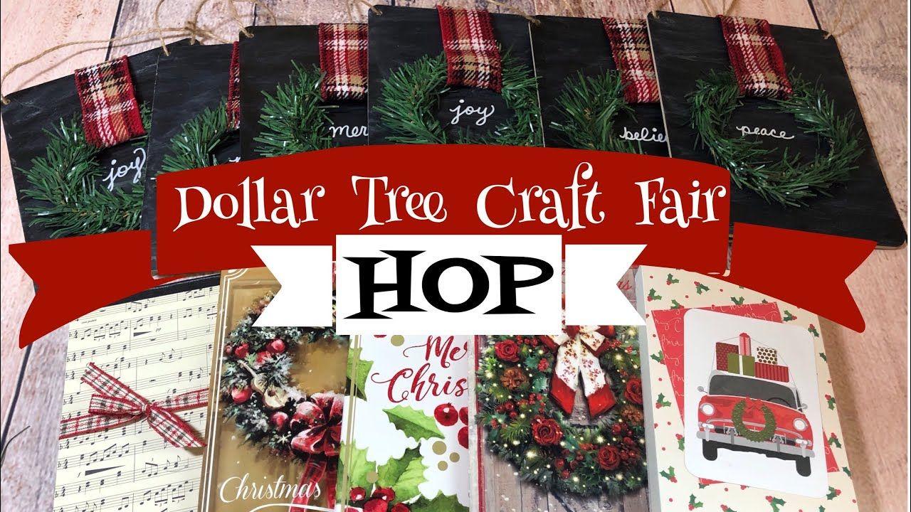 Dollar Tree Craft Fair Ideas HOP 3 Craft Fair Ideas