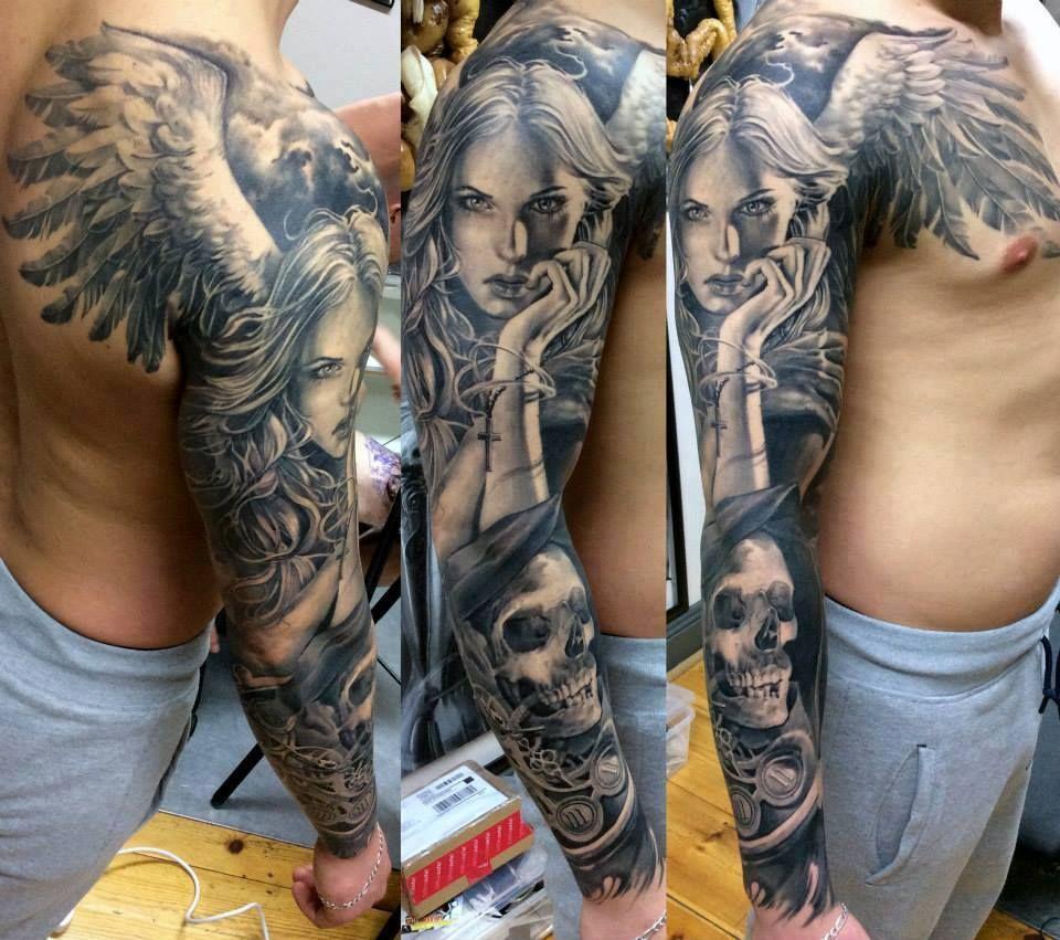 Halaah Io Best Tattoo Designs For Men: Marcin Sonski Tattoo Artist - Zulu-Tattoo Dublin