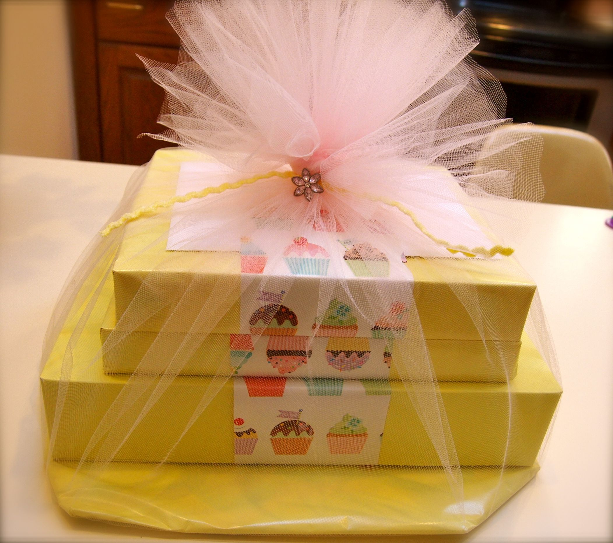 Cute Gift Wrapping Ideas | paper then wrapped a piece of printed paper around – stacked gifts ...