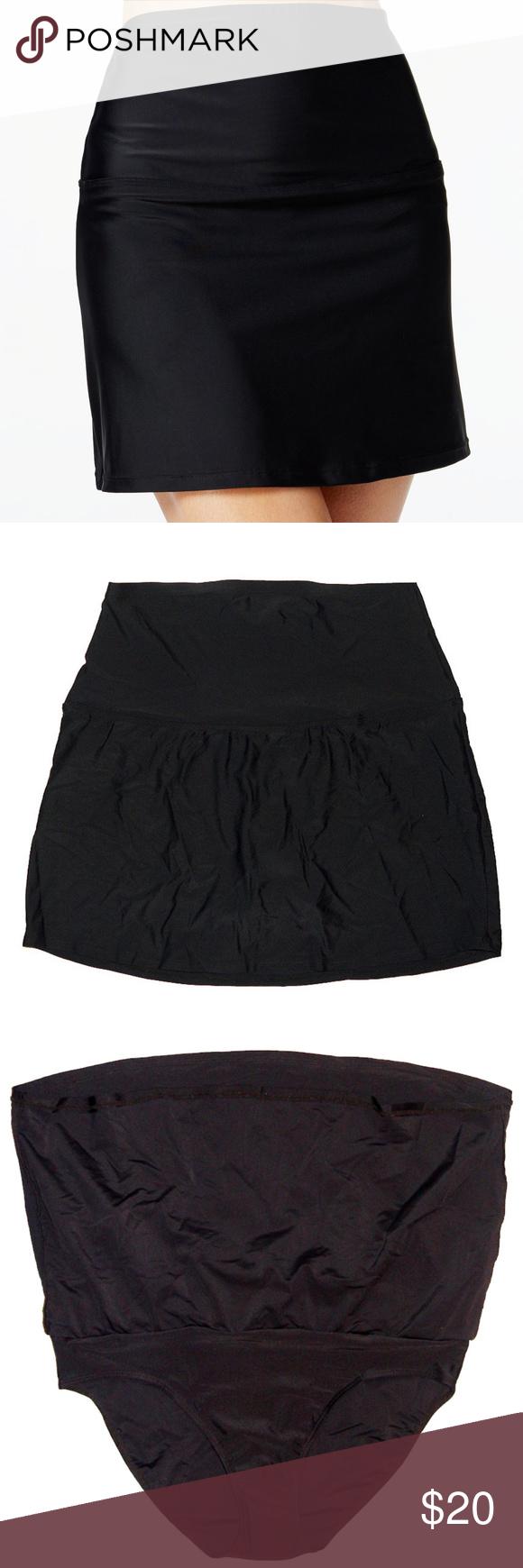 a30f63992f Island Escape High Waist Skirted Bottom Swim Skirt Island Escape La Palma  High-Waisted Tummy