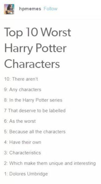 Harry Potter Fandom Buzzfeed against Harry Potter Quiz In