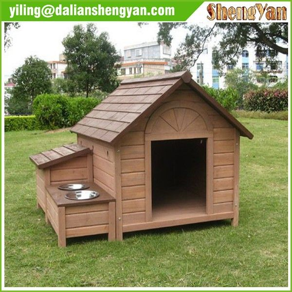 Source Outdoor Cheap Dog House , Wooden Dog Kennel , Dog