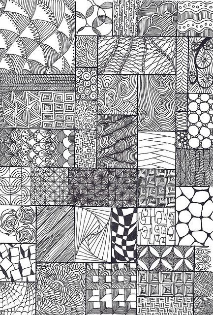 Zentangle sampler textura crear y varios how to zentangle patterns recent photos the commons getty collection galleries world map app gumiabroncs Images