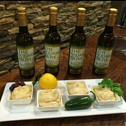 Add these oils and vinegars from The Square Olive to really amp up your holiday appetizers!