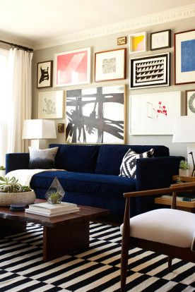 Attrayant Dunham Sofa + Live Edge Coffee Table From West Elm