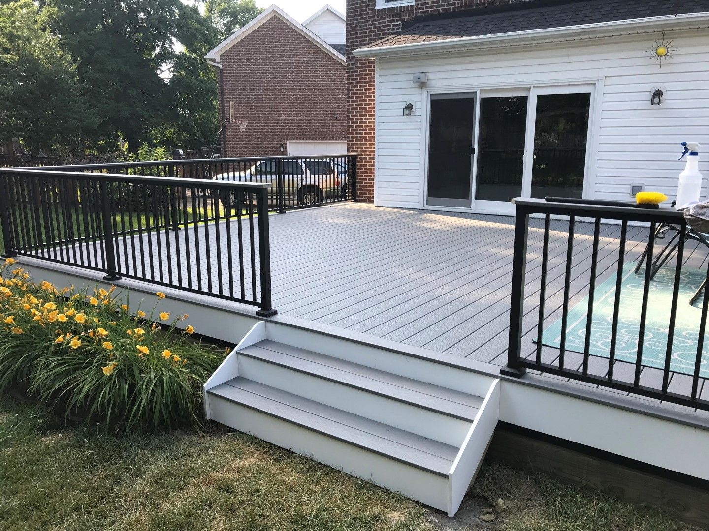 Composite decking has certain benefits such as durability