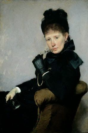 femmes artistes peintres women artists painters : Bertha Wegmann (1846-1926)