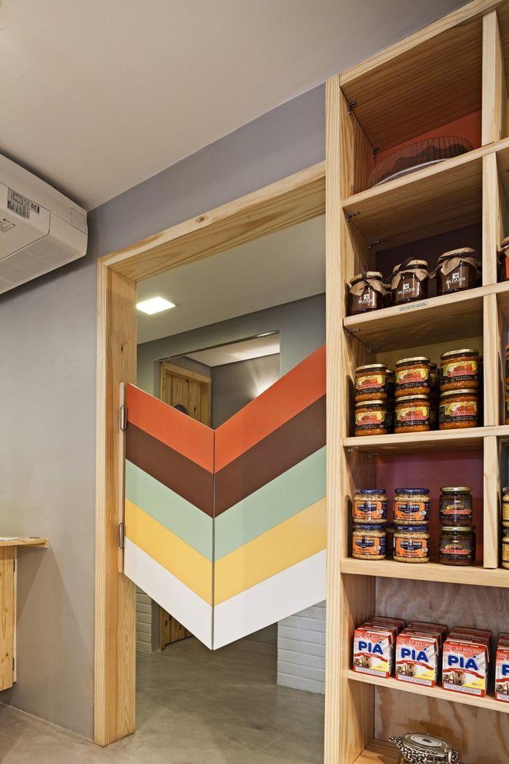 Resturant swinging kitchen doors
