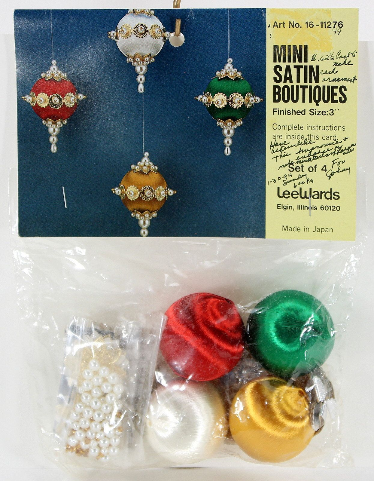 christmas beaded ornament kits