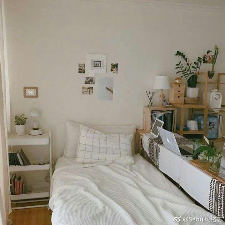 Korean Room Aesthetic Small Vertical Pin By Normina Emia On Interior Ideas Minimalist Bedroom Minimalist Bedroom Bedroom Design Bedroom Decor