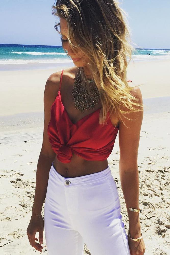 f4fbb84c9f1 Ways to Wear Crop Tops for Any Occasion ☆ See more  http