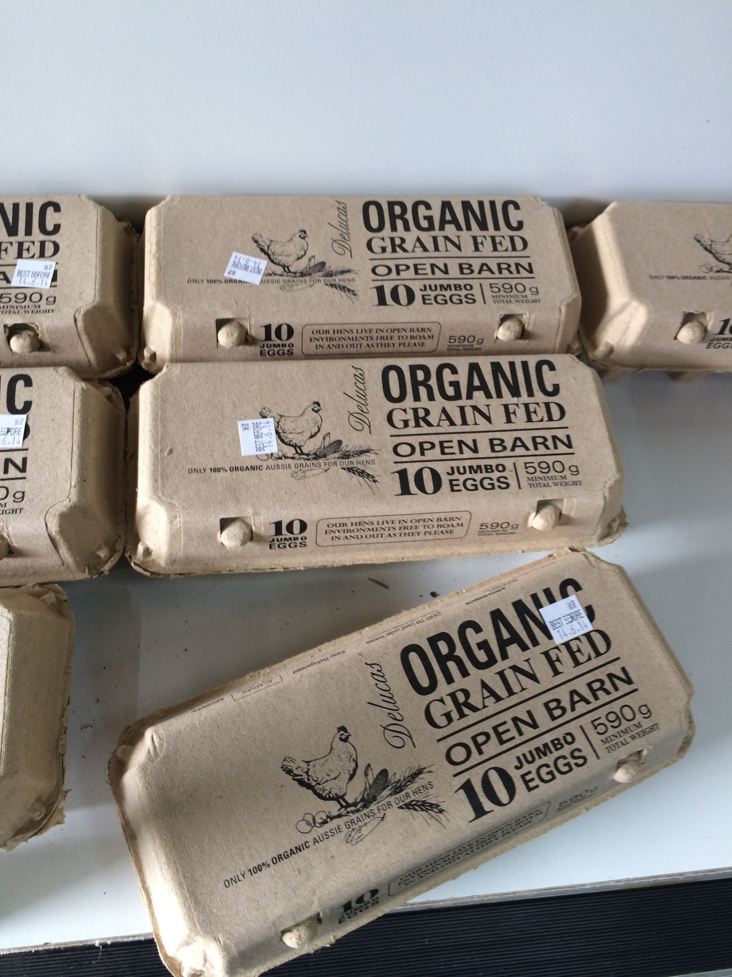 Organic Eggs Interact Packaging Egg