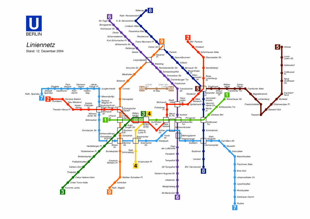 ... underground and Subway map