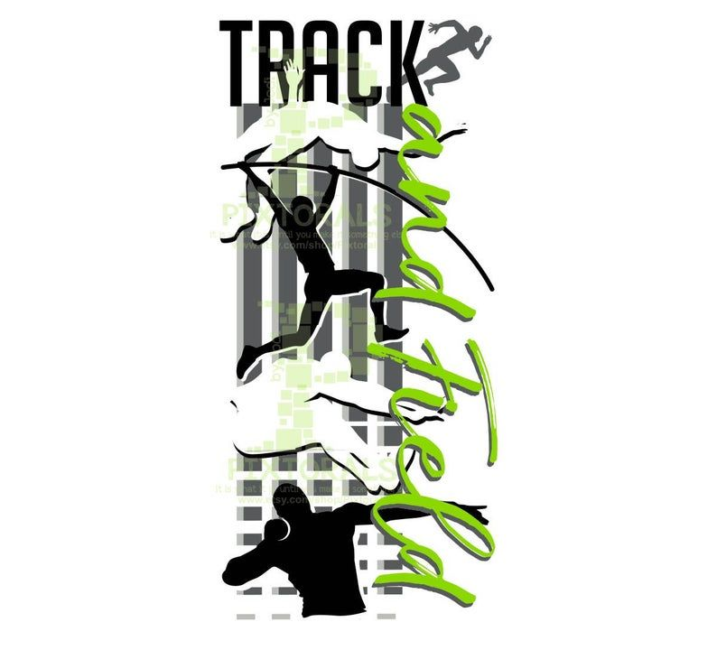 Track And Field Design Eps Jpeg Png Svg T Shirt Graphics Track Logo Track Clipart Vector Art Track And Field Track Track Workout