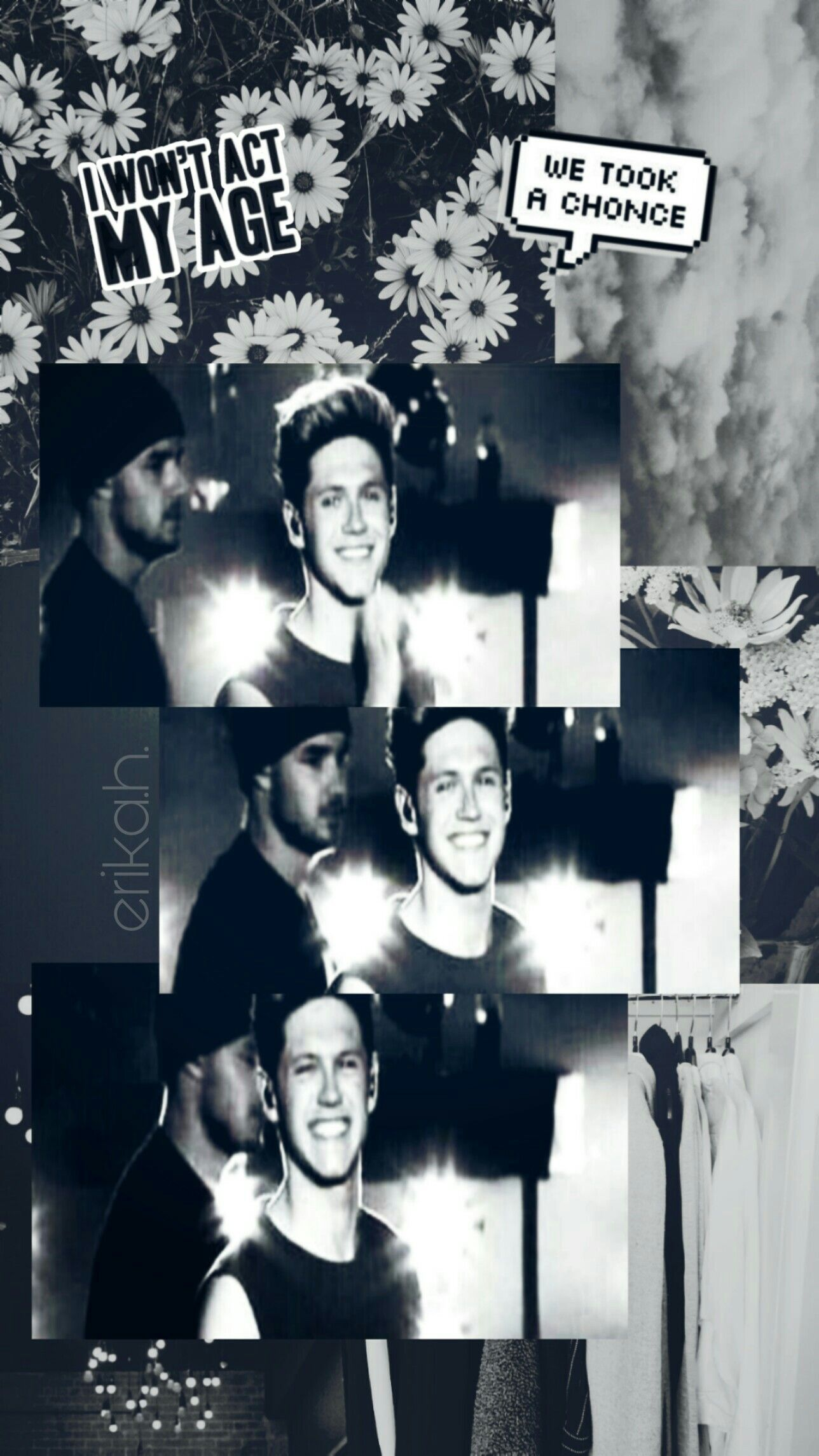 Niall Horan Wallpaper Black And White Niall Horan Black And White Movie Posters