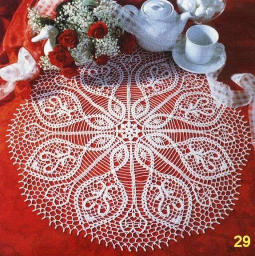 Pin By Dina On Doilie Pinterest Napkins Crochet And Crochet Doilies