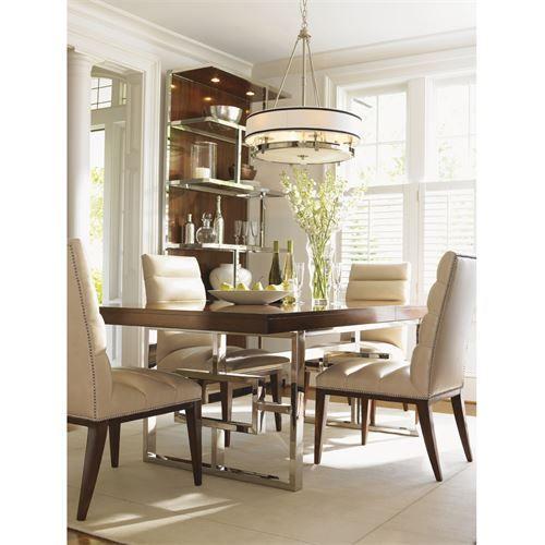 Lexington Furniture 458 876p 458 876t Mirage Monroe Dining Table